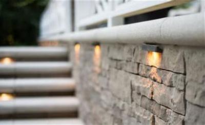 Светильники для подсветки стен и ступенек